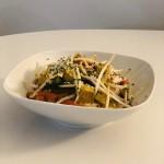 Tofu aux légumes sautés