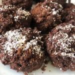 Muffins choco-coco courgette