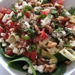 Salade fraîche au quinoa