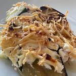 Lasagnes de courgettes aubergines saumon ricotta